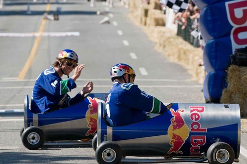 Red 公牛 Soap Box Derby