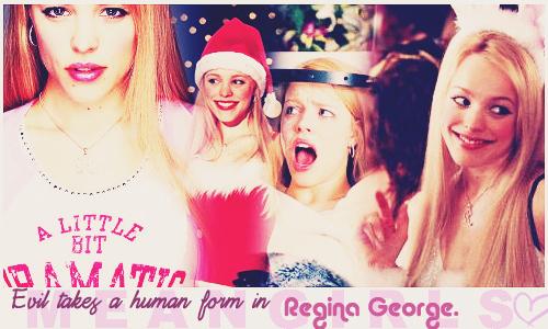Mean Girls wallpaper containing a portrait called Regina