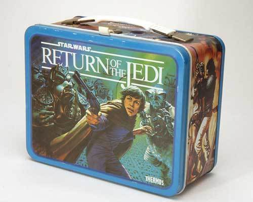 Return of the Jedi Vintage 1983 Lunch Box