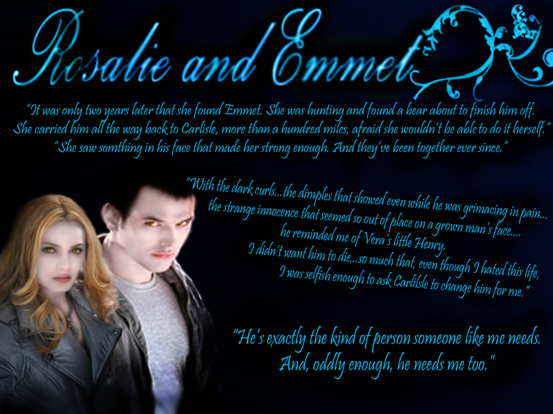 Rosalie & Emmett - emmett-and-rosalie wallpaper