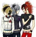 Roxas, Axel, and Zexion