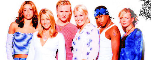 S Club 7 banners