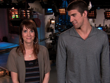 Michael Phelps wallpaper probably with an outerwear called SNL Promo