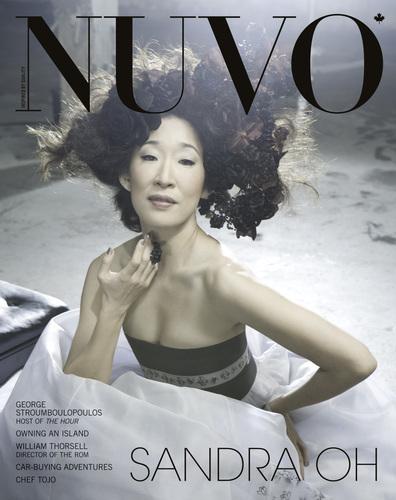 Sandra Oh Nuvo Photoshoot