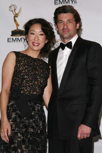 Sandra & Patrick at the Emmys