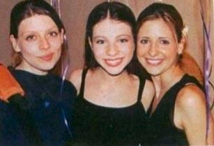 Sarah M.Gellar,Amber Benson & M.Trachtenberg