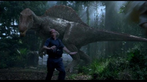 Jurassic Park kertas dinding with a triceratops entitled Scenes from Jurassic Park III [Part 5]