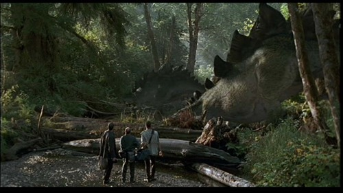 Jurassic Park پیپر وال with a triceratops titled Scenes from Lost World [Part 1]