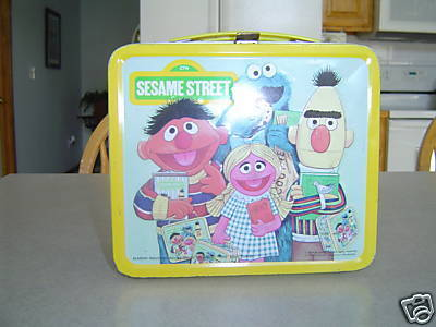 Sesame calle lunch box
