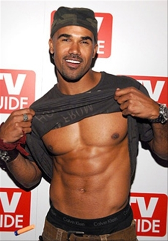 Shemar Moore wallpaper possibly with a hunk and a six pack called Shemar Moore