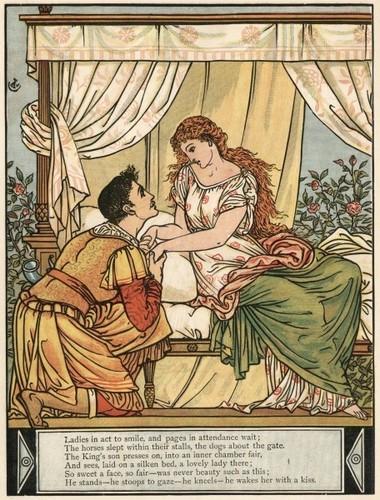 Sleeping Beauty Storybook