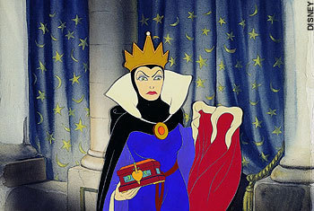 Disney Villains hình nền entitled Snow White Evil Queen