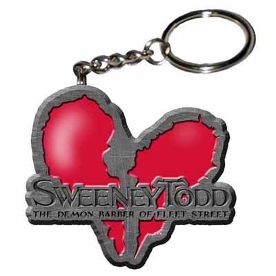 Sweeney Todd Keychain