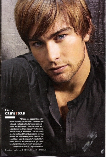 TV Guide Sexiest Stars: Chace Crawford
