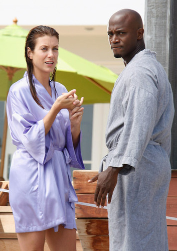 Taye Diggs and co-stars on Private Practice.