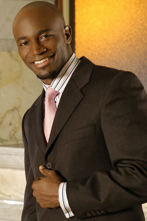 Kevin Hill wallpaper containing a business suit, a suit, and a three piece suit titled Taye Diggs