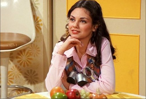 Jackie Burkhart wallpaper with a holiday dinner, an antipasto, and a bouquet entitled That 70s show - season 1