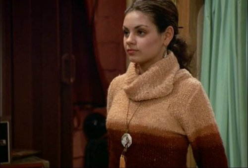 Jackie Burkhart wallpaper probably with a pullover and a cardigan called That 70s show - season 2