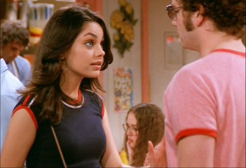 Jackie Burkhart wallpaper possibly containing a portrait called That 70s show - season 5