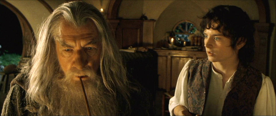 frodo and gandalf relationship trust