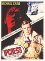 The Ipcress File Movie Poster - michael-caine fan art