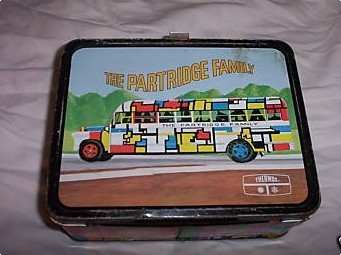 The perdrix Family vintage '60s lunchbox