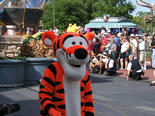 Tigger at Disney World