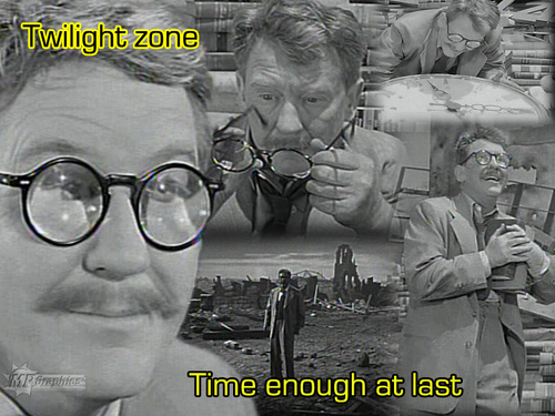 The Twilight Zone images Time Enough At Last HD wallpaper and background photos