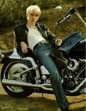 Tom Felton پیپر وال probably with a motorcyclist, a motorcycle, and a trail bike entitled Tom Felton is too HOT!