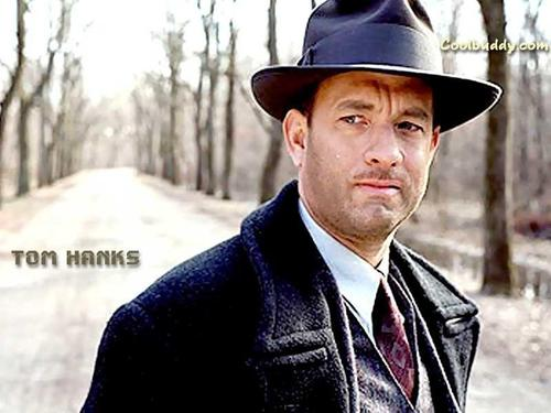 Tom Hanks wallpaper probably with a business suit, a fedora, and a boater entitled Tom Hanks