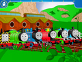 Trains of Sodor - thomas-the-tank-engine wallpaper
