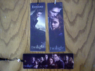 Twilight Bookmarks at Borders!