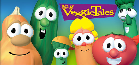 VeggieTales Banner veggie tales 2318886 555 262 VeggieTales: 2 DVDs and 2 CDs Shipped for $25