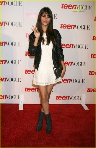 Victoria Justice - Young Hollywood Party Teen Vogue
