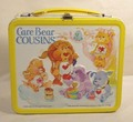 Vintage 1985 Care menanggung, bear Cousins Lunch Box