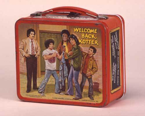 Welcome Back Kotter Vintage 1976 Lunch Box