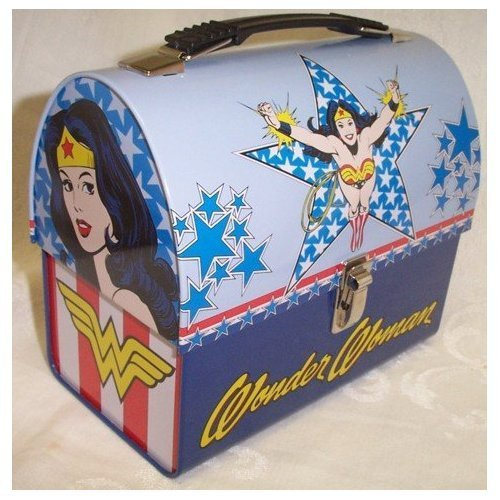 Lunch Boxes wallpaper with a treasure chest called Wonder Woman Dome Lunch Box