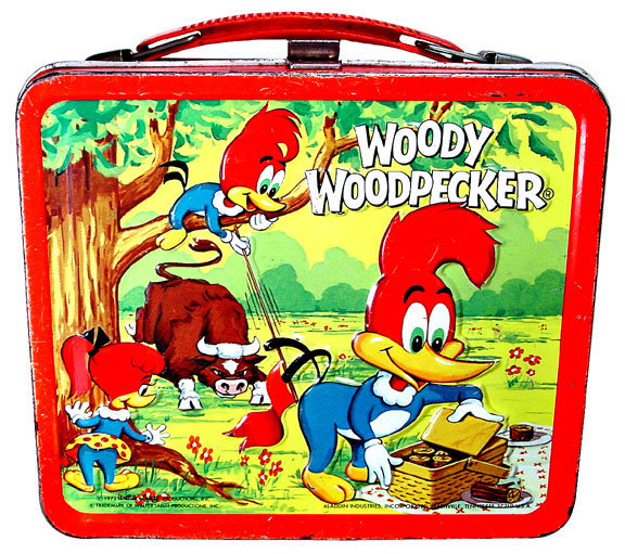Woody Woodpecker Vintage 1972 Lunch Box