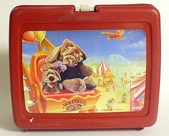 Wrinkles Vintage 1984 Lunch Box