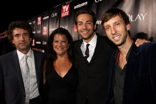 Zachary Levi at the TV Guide Emmy After-Party 2008