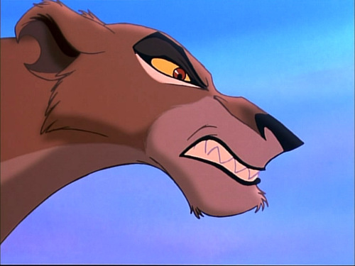 Disney Villains achtergrond called Zira