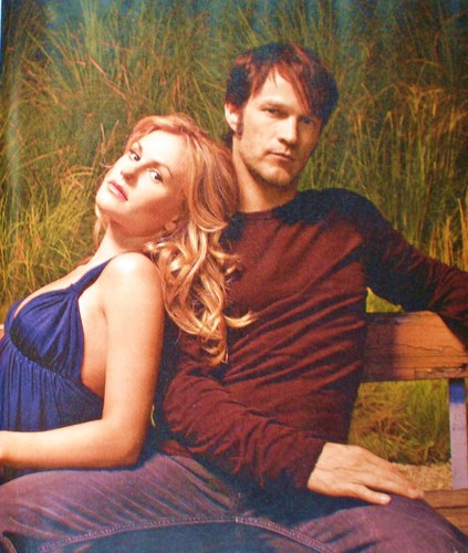 a tv guide foto of bill and sookie