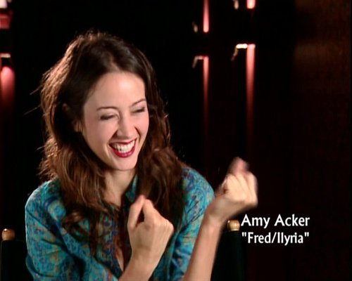 amy acker on behind the scenes of angel