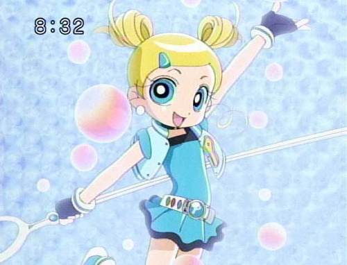 powerpuff girls Z پیپر وال entitled bubbles