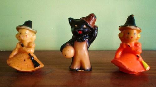 candle  figurine