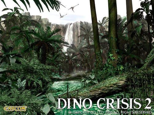 dino crisis 2 fond d'écran