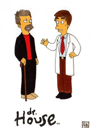 house md cartoon