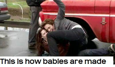 how renesmee was conceived
