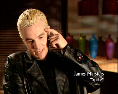james on Angel dvd extras