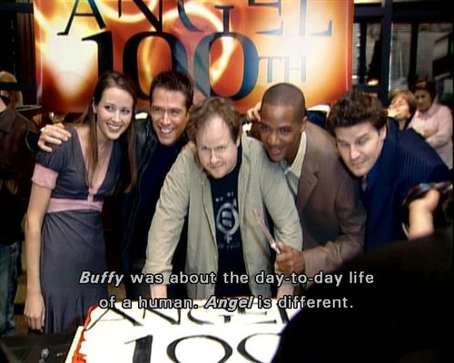 joss on Angel season 5 dvd extras